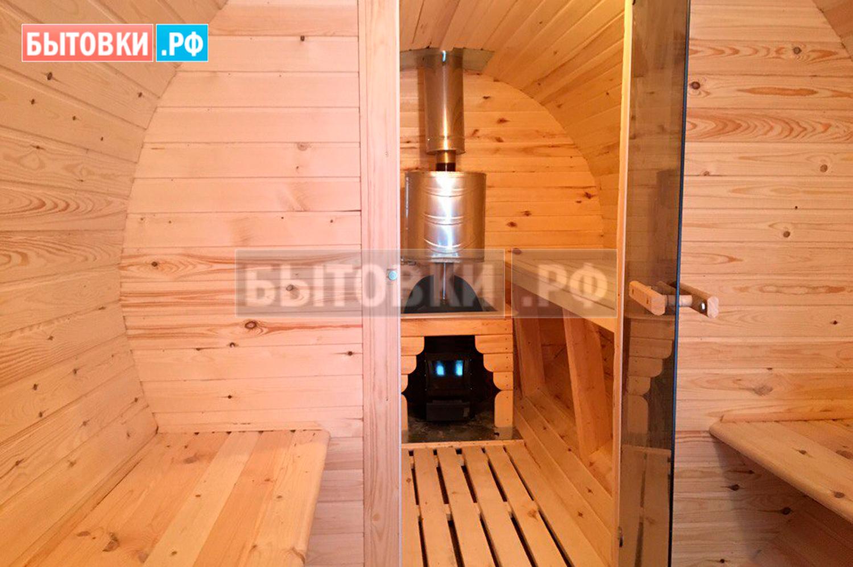 баня бочка от производителя в московской области