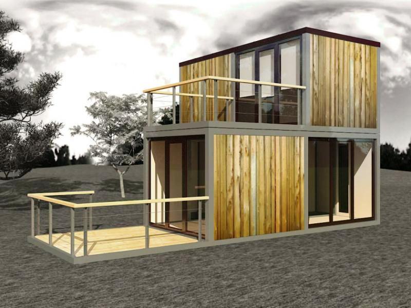 фото модульных домов из бытовок модели сравнению